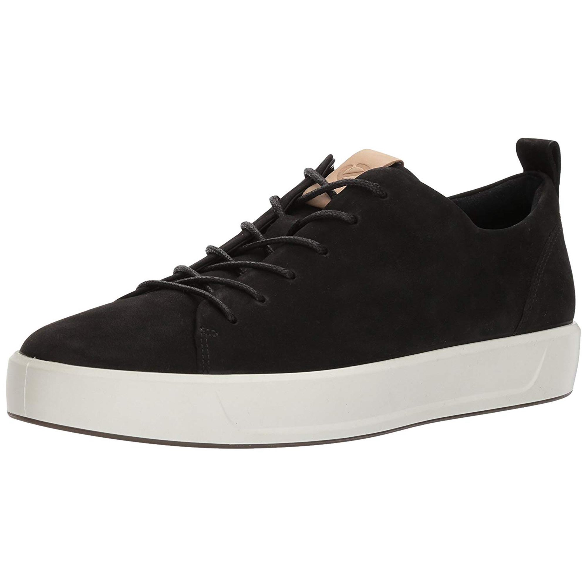 153a68f60a ECCO Mens Soft 8 Leather Low Top Lace Up Fashion | Walmart Canada