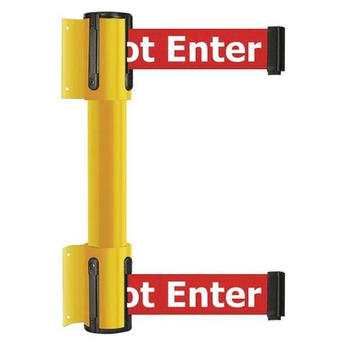 TENSATOR 896T2-35-STD-RIX-C Belt Barrier, 7-1/2ft., Danger-Do Not Entr