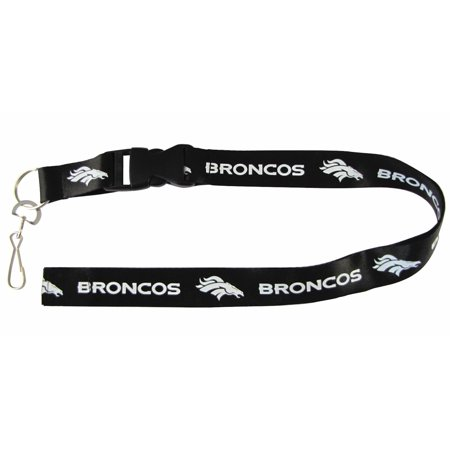 Denver Broncos Nfl Breakaway Lanyard With Key Ring Pro Specialties Group 309638