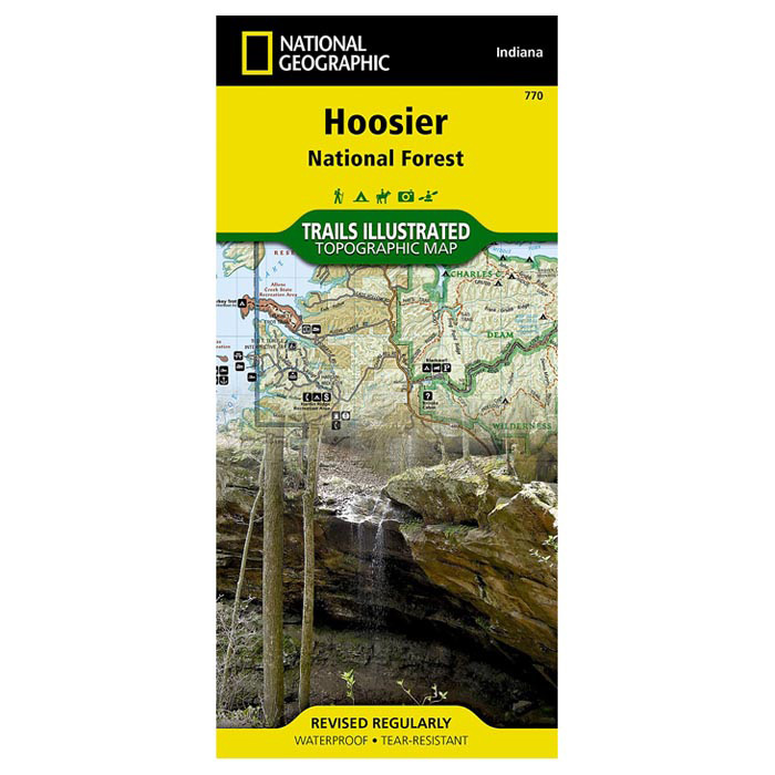 Hoosier National Forest (National Geographic Trails Illustrated Map) - National Geographic