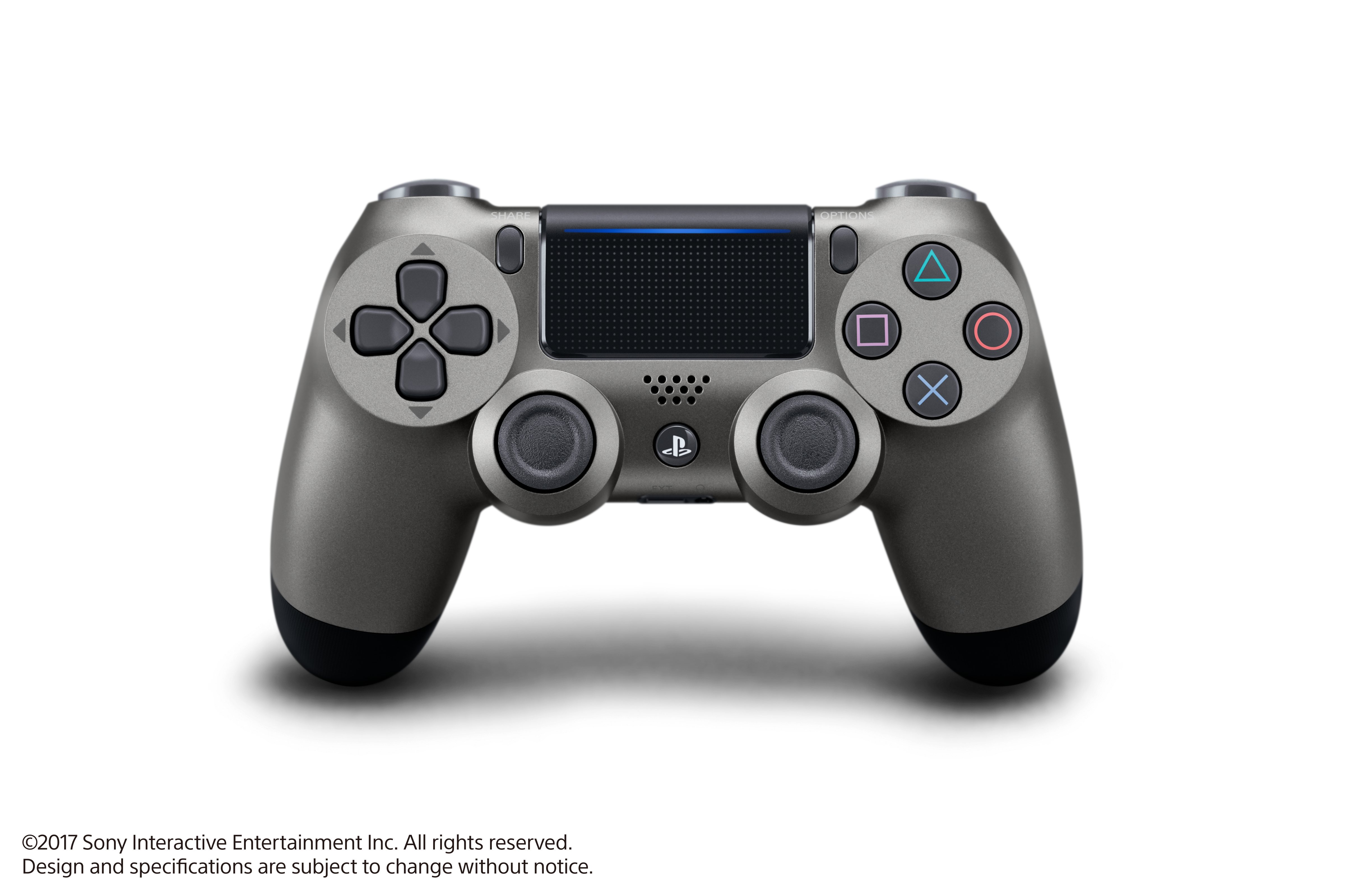 Sony Playstation 4 DualShock 4 Controller, Steel Black, 3002837 by Sony