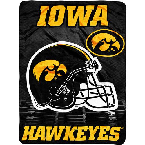 """NCAA Overtime 60"""" x 80"""" Blanket, Iowa"""