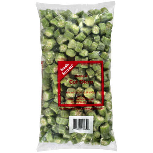 Fresh Frozen Cut Okra, 32 oz