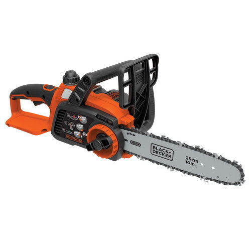 Factory-Reconditioned Black & Decker LCS1020R 20V MAX 2.0 Ah Cordless Lithium-Ion 10 in. Chainsaw (Refurbished)