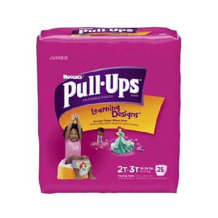 72 Training - Kimberly Clark Pull-Ups Training Pants - 41247CS - 4T - 5T, 72 Each / Case