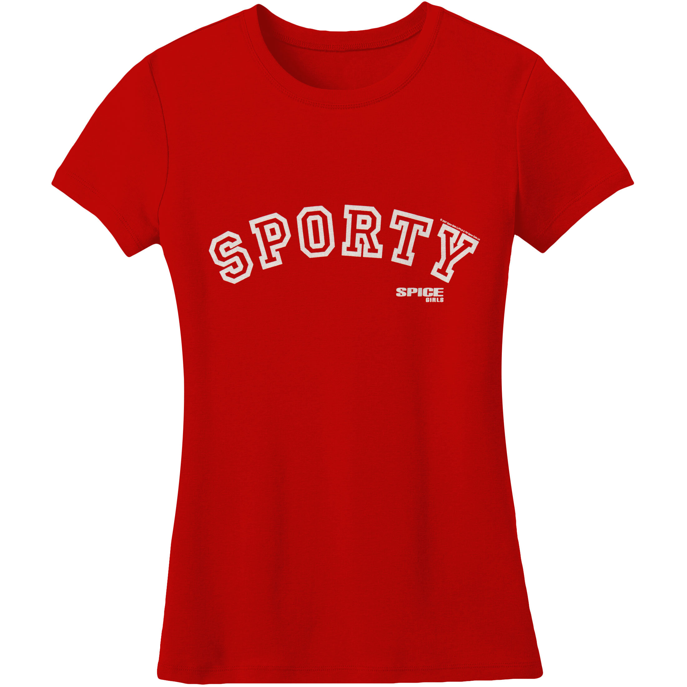 Spice Girls  Sporty Girls Jr Soft tee Red
