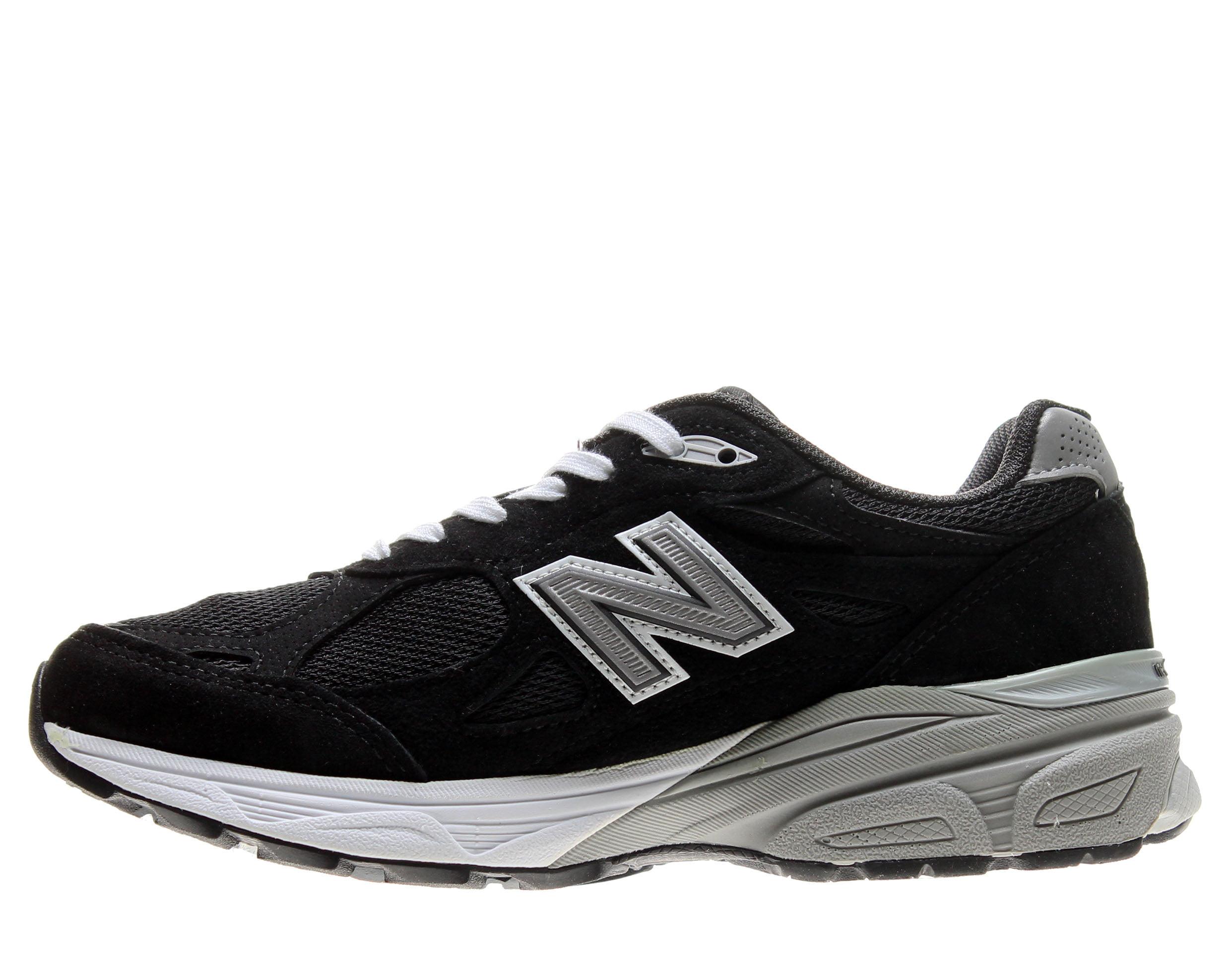 New Balance 990v3 Black/Grey Women's Running Shoes W990BK3