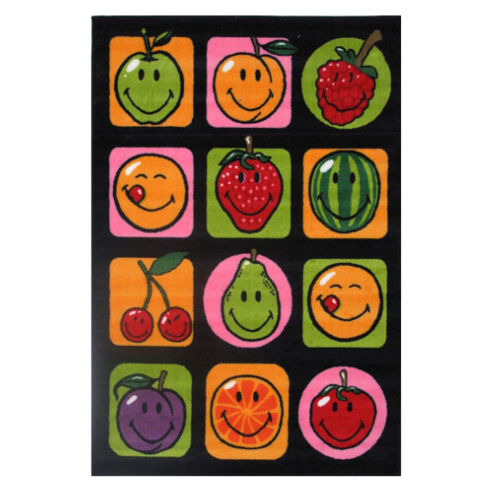 "Fun Rugs Smiley Fruitti 19"" x 29"" Rug"