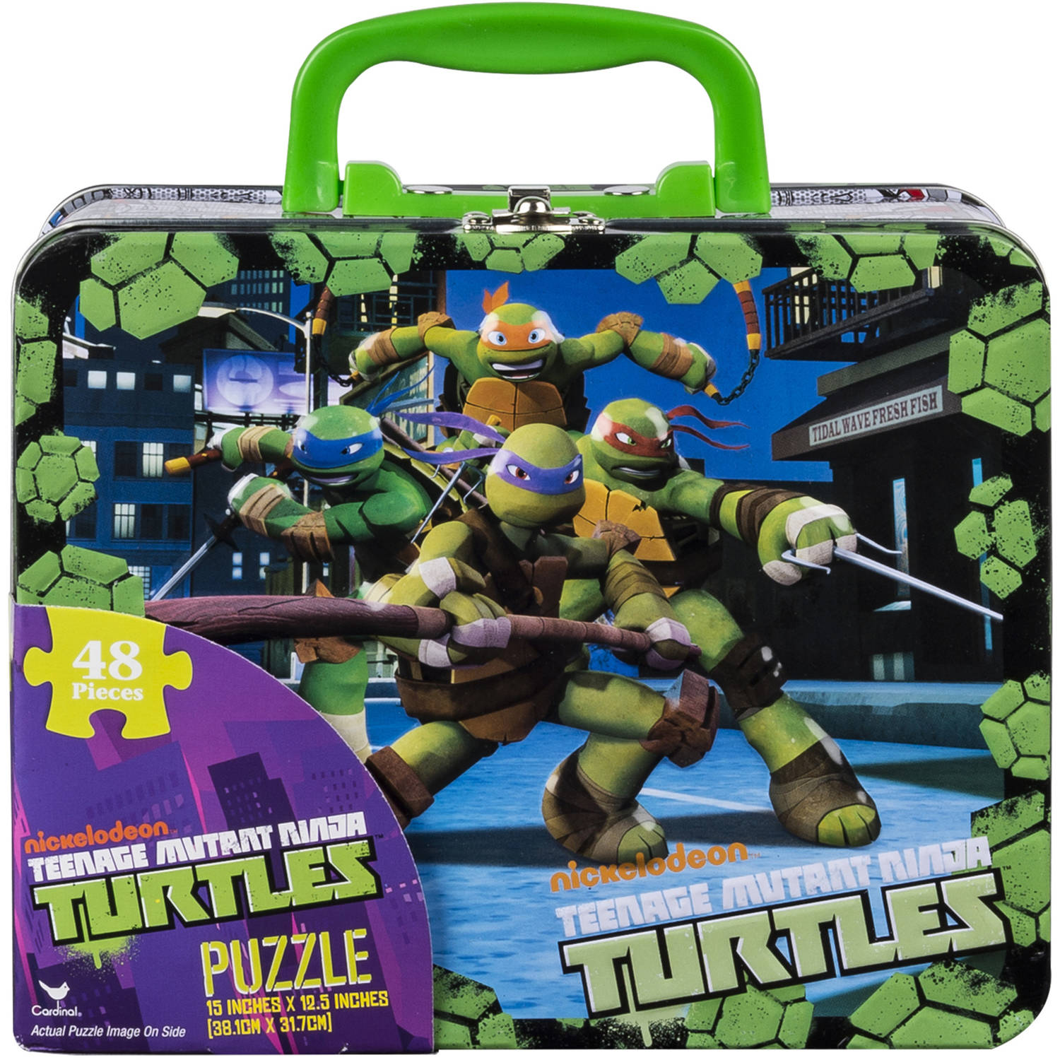 Nickelodeon Teenage Mutant Ninja Turtles Super 3D Puzzle, 150 pcs