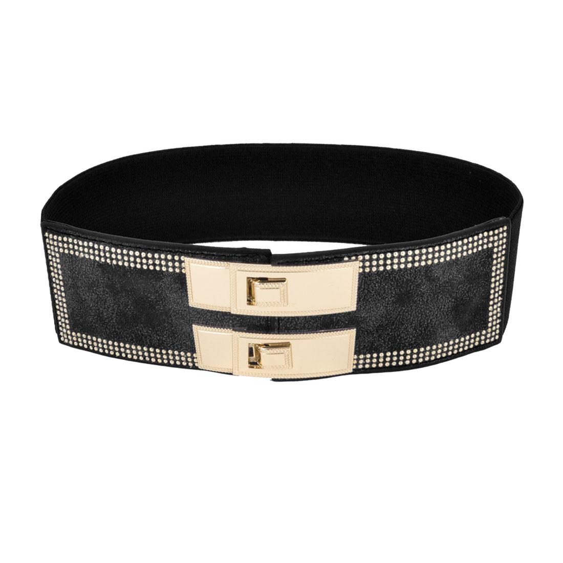 unique bargains metal rectangle buckle 6cm