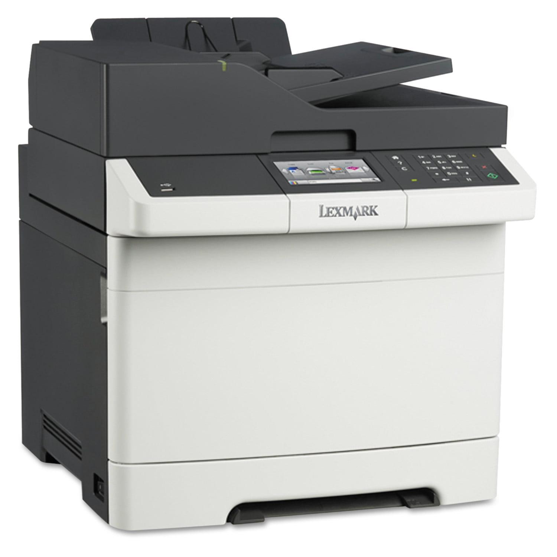 Lexmark CX410e Multifunction Color Laser Printer, Copy/Fax/Print/Scan