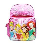 Disney Backpack Princess - Cinderella Aurora Bella & Ariel New A08432