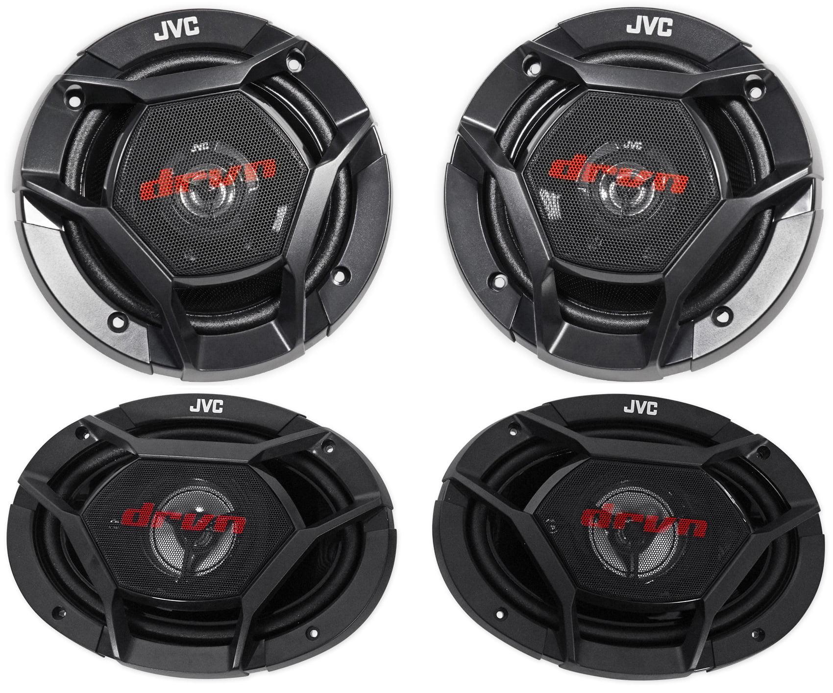 "(2) JVC CS-DR620 6.5"" 300w Car Audio Speakers+(2) CS"