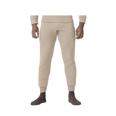 Sand Polypropylene Thermal Long Underwear Pants/Bottom
