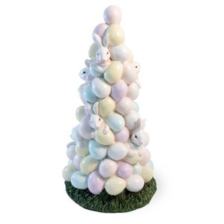 Boston International XAC18275 Bunny & Egg Tree Easter Accent (Easter Tree Ideas)