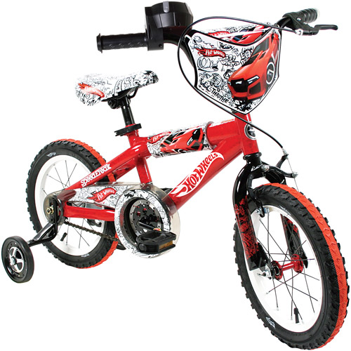 "14"" Hot Wheels Boy's Bike"