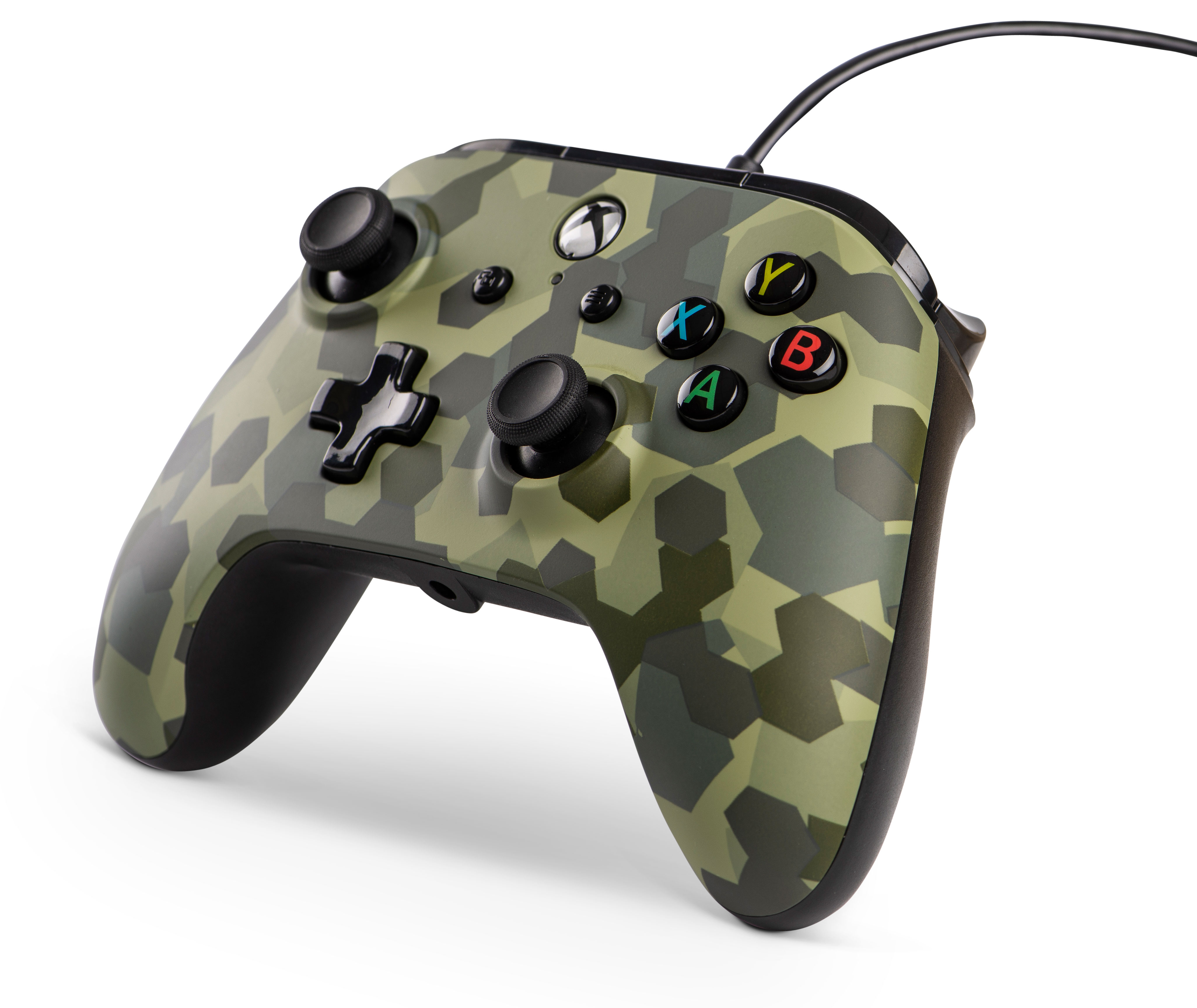 PowerA Wired Controller for Xbox One, Deep Jungle Camo