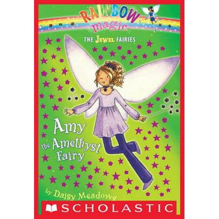 Jewel Fairies #5: Amy the Amethyst Fairy - eBook (Amethyst Stone Meaning)