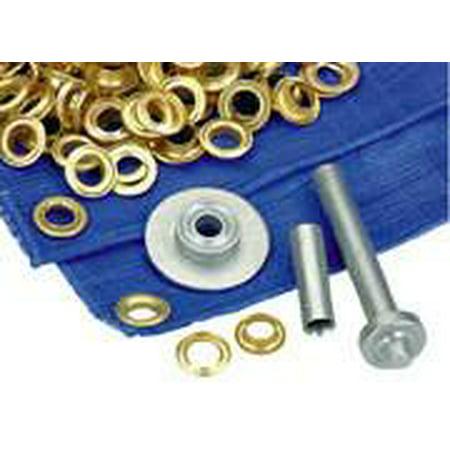 Tarp Repair Kit (Tarp Tent Awning Repair Set Tool Grommet Ring Hole Install Kit Installer)