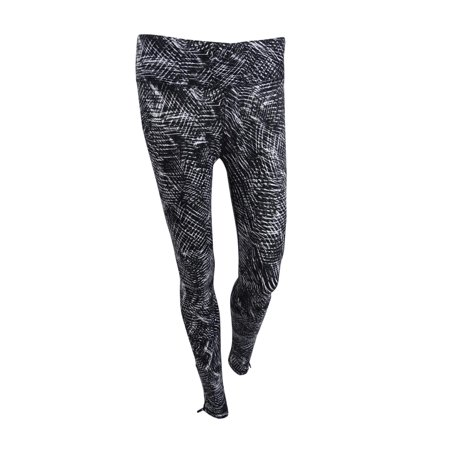 DKNY Women's Sport Printed Athletic Leggings XS, Charcoal