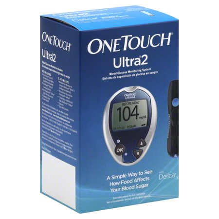 OneTouch Ultra2 Meter Blood Glucose Monitoring System