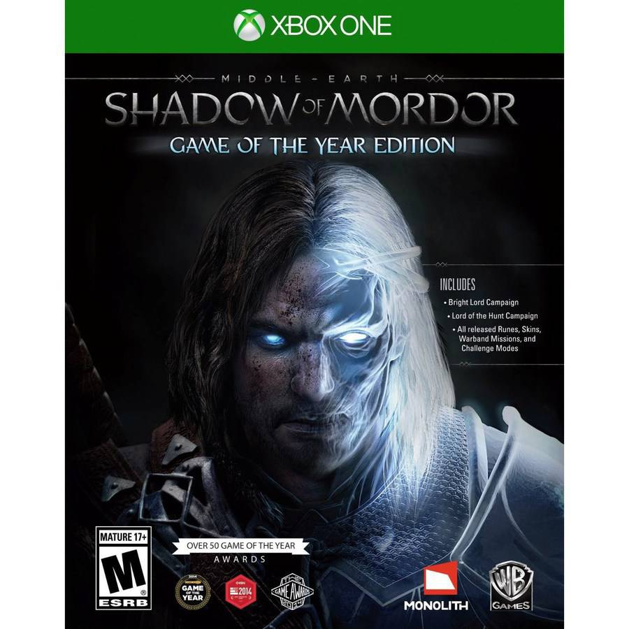 Middle Earth: Shadow of Mordor - Game of the Year (Xbox One)