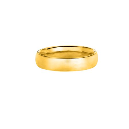 14k Yellow Or White Gold High Polish 8mm Comfort Fit Wedding Band Ring Size (8mm 14k White Gold Band)