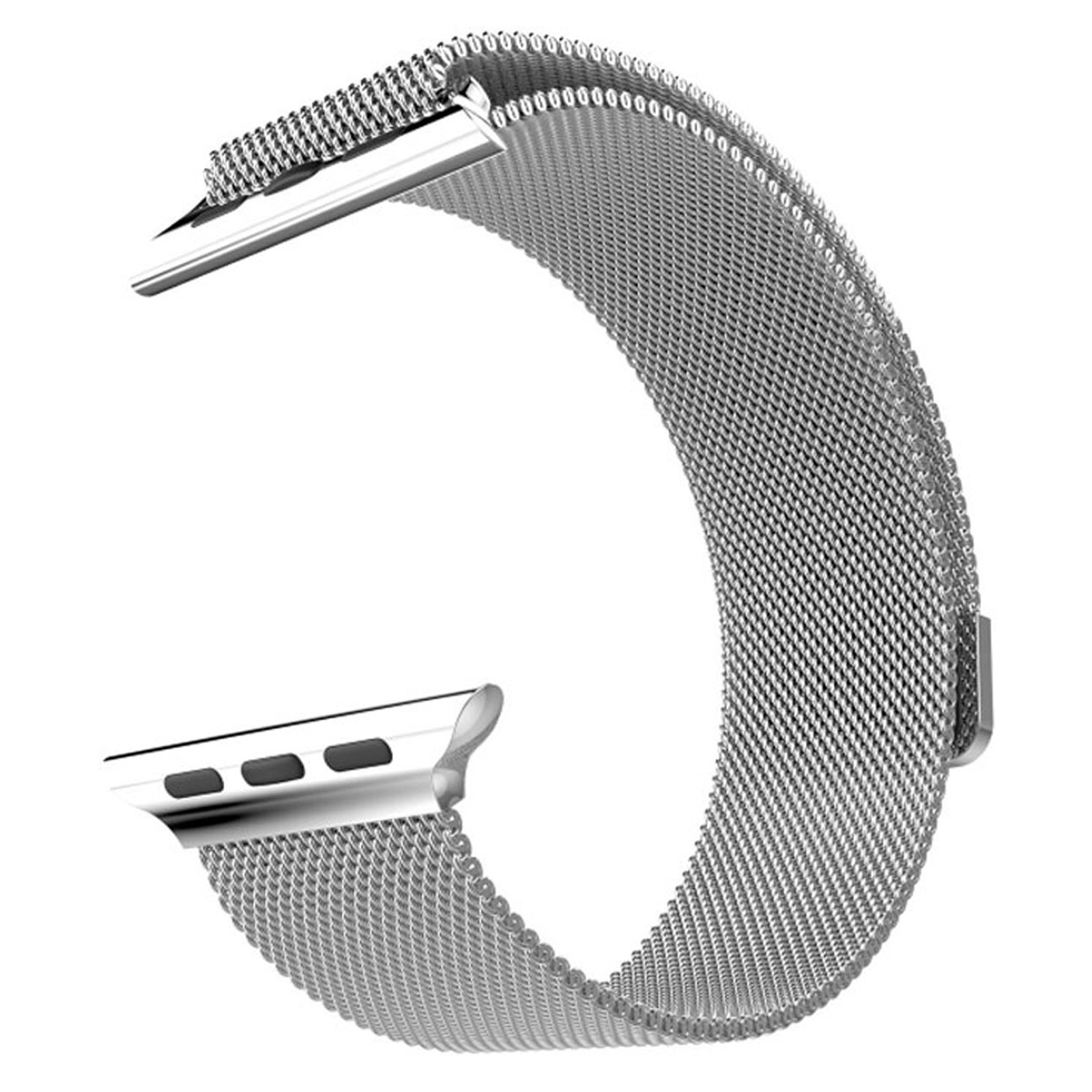 Mgear Milanese Loop For Apple Watch 38mm -  Silver