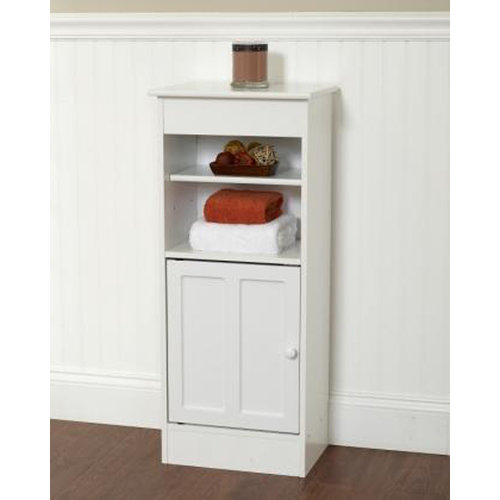 Zenith Products Wood Floor Stand, White