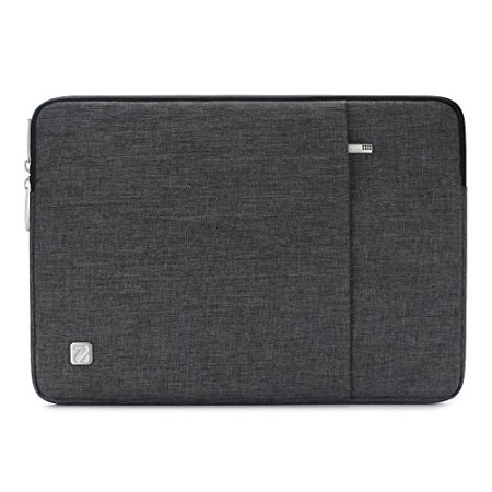 NIDOO 12.5-13.3 Inch Laptop Sleeve Case Water Resistant Protective Portable Notebook Carrying Bag for New 13