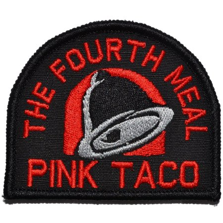 Pink Taco - The Fourth Meal - 3 inch Arch Patch (Gateway Arch Patch)