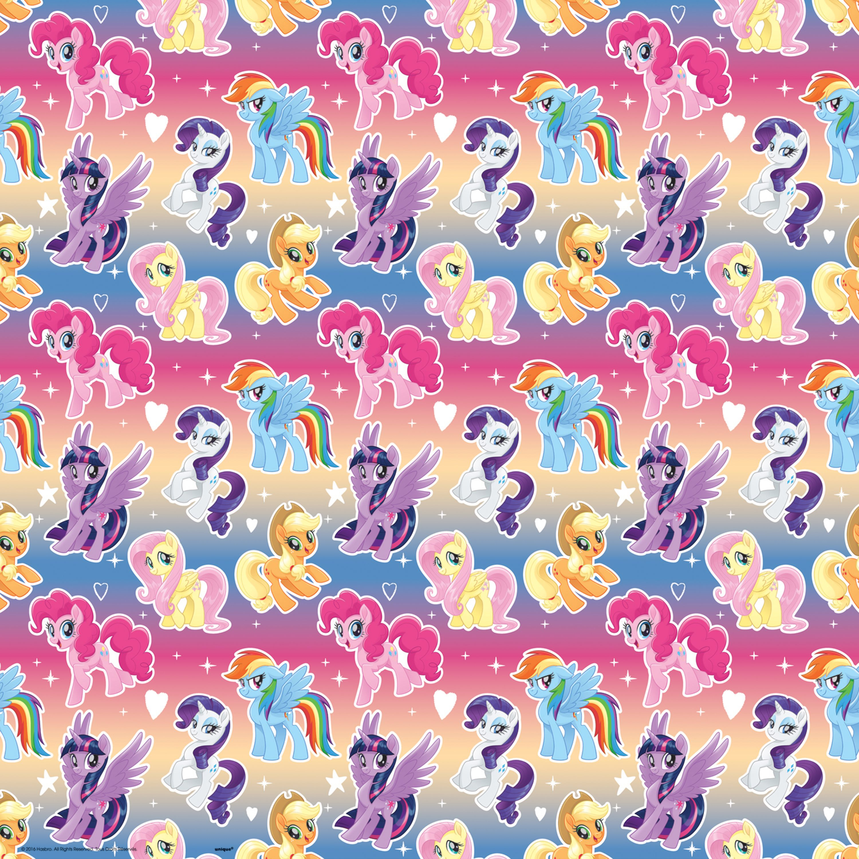 My Little Pony Wrapping Paper Roll