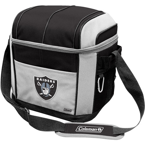 """Coleman 11"""" x 9"""" x 13"""" 24-Can Cooler, Oakland Raiders"""