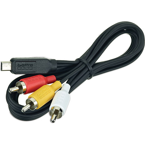 GoPro HERO3 Composite Video Cable