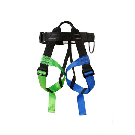 Tirsuli Rock Climbing Rappelling Harness Adjustable Seat Belt auto-lock buckles leg - Mating Buckle Leg