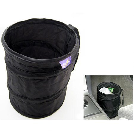 new pop up litterbin car auto mini trash can waste bin storage container office. Black Bedroom Furniture Sets. Home Design Ideas