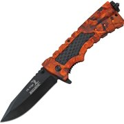 Linerlock Orange Camo A/O