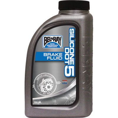 BEL-RAY SILICONE DOT 5 BRAKE Fluid (355 ML) BEL-RAY�Silicone DOT 5 Brake Fluid by Bel-Ray