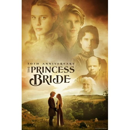 The Princess Bride 30th Anniversary Movie Poster Wall (30th Anniversary Frame)