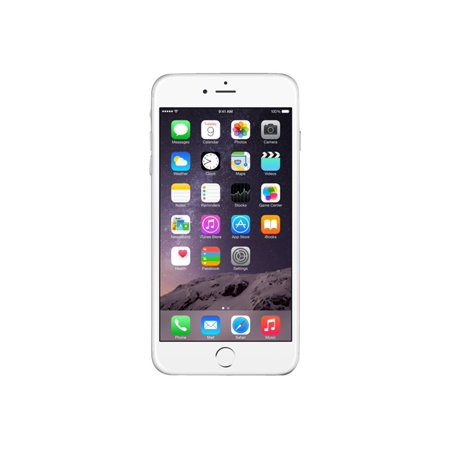 Refurbished Apple iPhone 6 Plus 64GB, Silver - Unlocked