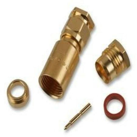 Amphenol Rf 901 103 Rf Coaxial Sma Plug Str 50 Ohm Clamp Sldr