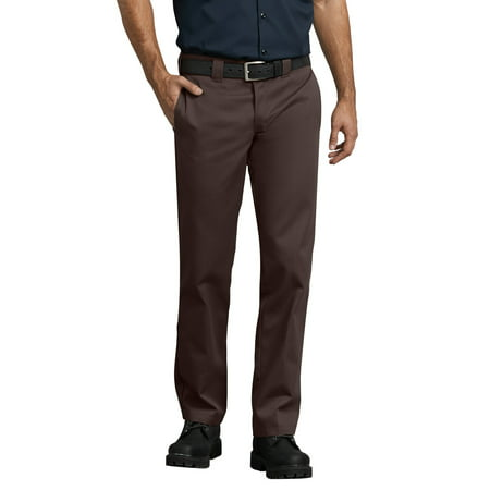 Men's Slim Fit Straight Leg Work Pants