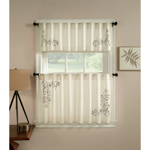 CHF U0026 You Scroll Leaf Kitchen Curtains, Set ...
