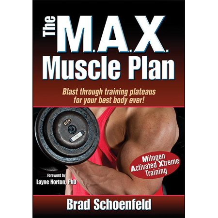 The M A X  Muscle Plan  Paperback
