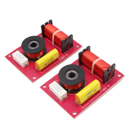 2Pcs 250V Motorcycle Car Audio Crossover Filter Speaker Frequency -
