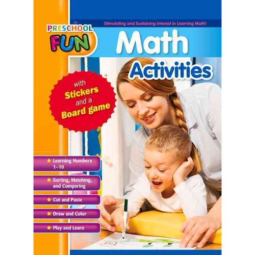 Preschool Fun Math Activities by