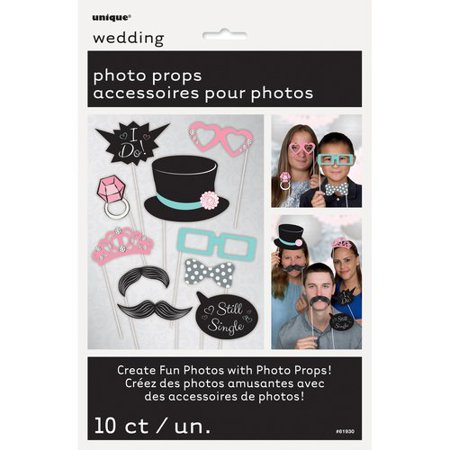 Wedding Photo Booth Props, - Props Photo Booth Wedding