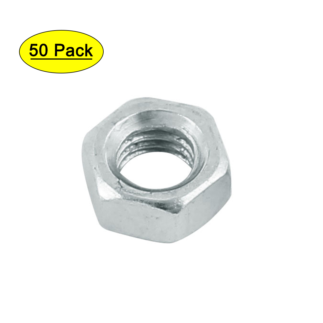 10#-32 Fine Thread Hexagon Nut Pack of 50 uxcell Hex Nuts Stainless Steel 304