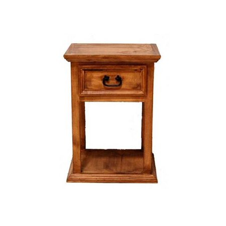Tall single drawer nightstand How tall is a nightstand