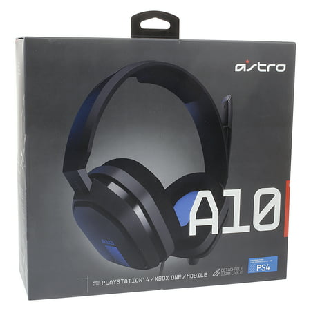 - Astro A10 Gaming Headset for Playstation 4 and Xbox One, Black